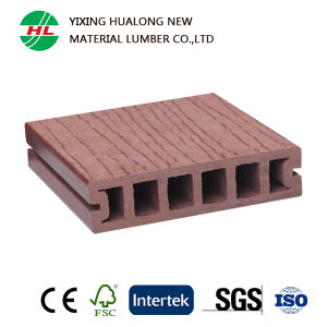 Hollow Wood Plastic Composite Outdoor Flooring (M30) pictures & photos