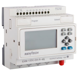 GSM/SMS/GPRS PLC, Ideal Solution for Remote Control& Monitoring &Alarming Applications (EXM-12DC-DA-R-4G) pictures & photos