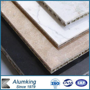 Marble Coated Aluminum Honeycomb Panels for Curtain Wall pictures & photos