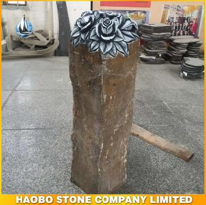 Basalt Stone Rose Carving Stone Statue pictures & photos