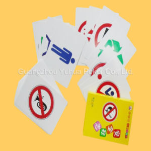 Plastic Playing Cards Educational Cards Flashcards with Brand New Plastic pictures & photos