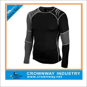 Men Sports Fitness Wear Compression Shirts with Custom Printing pictures & photos