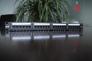 CAT6 24 Port FTP Patch Panel (HSC-2060222-24) pictures & photos