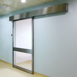 Automatic Two Panel ICU Sliding Door System pictures & photos