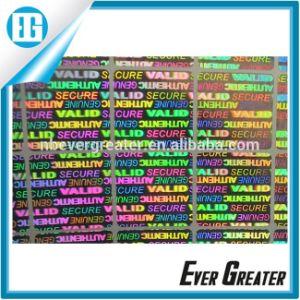 Custom Hologram Sticker, Hologram Label, Sticker Label pictures & photos