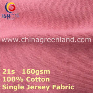 Cotton Single Jersey Knitting Fabric for Woman Textile (GLLML413) pictures & photos