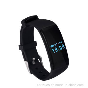 Touch Screen Smart Bracelet with Heart Rate Monitor (D21) pictures & photos