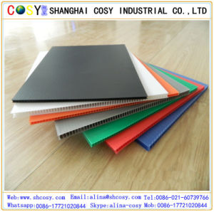 1220*2440mm Colorful Plastic PP Corrugated Sheet with High Quality pictures & photos