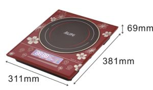 Sliding Touch Control LCD Induction Cooker/with Siemens IGBT Induction Hob pictures & photos