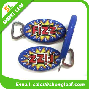 Custom Logo Soft PVC Rubber Bottle Opener pictures & photos