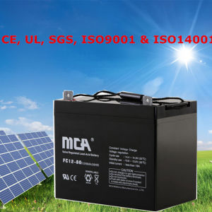Good Quality Solar Deep Cycle Battery Electric Vehicle Batteries pictures & photos