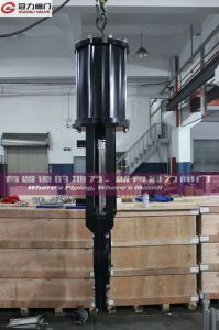 ANSI Slurry Knife Gate Valve with Double Pneumatic Actuator pictures & photos