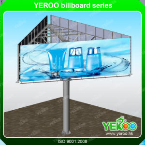 Advertising Outdoor Q235 Steel Column Billboard pictures & photos