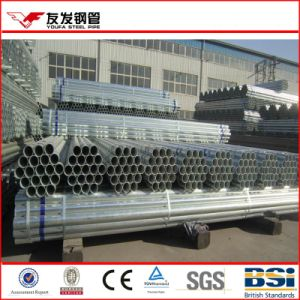 Galvanized Steel Pipe Plain Ends Standard En10219 China Mill pictures & photos