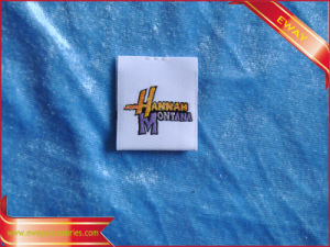 High Density Fabric Label Woven Label (WP0120030) pictures & photos