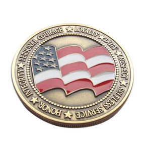 Souvenir Collection Coin with Soft Enamel with Epoxy