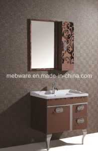 Floor Mounted Stainless Steel Bathroom Cabinet pictures & photos