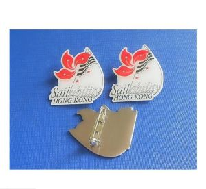 Name Offset Printing Badge, Custom Epoxy-Dripping Badge (GZHY-OP-019) pictures & photos