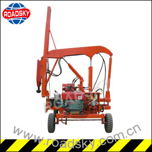 Metal Highway Guardrail Hydraulic Post Driver for Sale pictures & photos