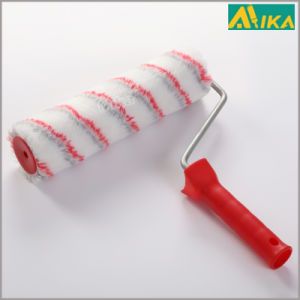 """9"""" Grey and Red Strips Acrylic Paint Roller with Handle pictures & photos"""