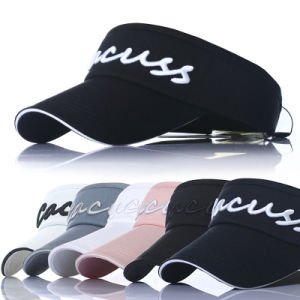 OEM Sports Golf Sports Cotton Leisure Promotional Summer Visor Cap pictures & photos