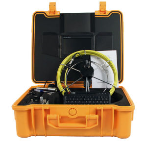Underground Pipe Inspection Camera with Sonde for Plumbing Experts Serving pictures & photos