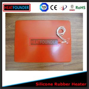 Customized 12V/24V Silicon Heater with Thermistor pictures & photos