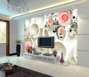 Custom Printed Cheap /Embossed/ Home /Designer Wallpaper pictures & photos
