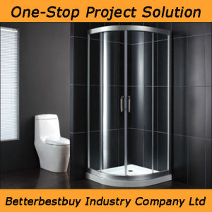Hotel Bathroom Shower Enclosure with Aluminum Alloy Shower Room pictures & photos