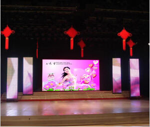 Super Clear P3 Indoor LED Wall Display Panel pictures & photos