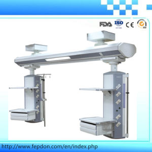 Electric Double Arm Revoling Medical Endoscopy Pendant (HFP-DS240/380) pictures & photos