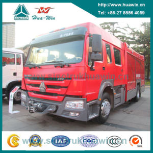 Sinotruk HOWO 4X2 Foam Fire Fighting Truck 12000L pictures & photos