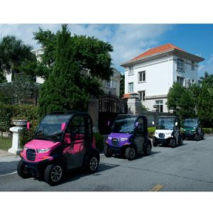 Battery 2 Seaters Electric Car for Sale pictures & photos