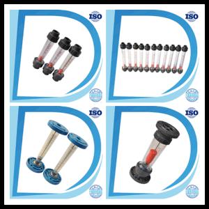 Air Water Flow Sensor PVC Socket-End Connection Flange Fbsp Thread Liquid Plastic Flow Meter pictures & photos