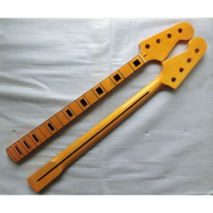 Canadian Maple P Bass Neck 20 Fret 4 String Bass Necks pictures & photos