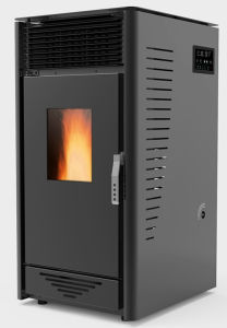 Fps-02-Black-Pellet Stove
