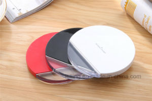 Qi Fast Wireless Charger with Sunplus Lolution Private Model for Smart Phone Outpout 5V 2.0 Amh or 9V 1.67 Amh No Heat pictures & photos