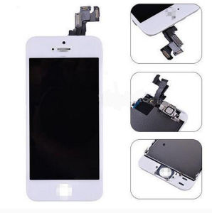 White LCD Touch Screen Digitizer Assembly for iPhone 5/5c/5s/Se pictures & photos