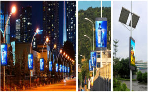 3G/GPS P5 Full Color LED Sign Board for Outdoor Standing Pole pictures & photos