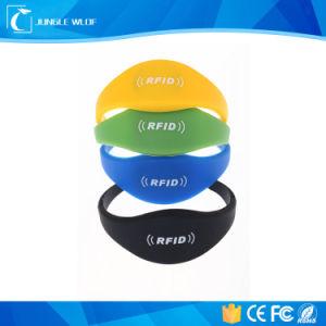 RFID Wristband, 13.56MHz Nfc Silicon Wristband pictures & photos