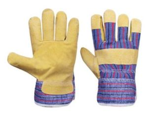 Safety Leather Gloves (58030114) pictures & photos