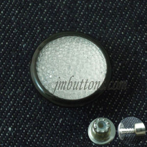 Crystal Glassic Custom Jeans Shirt Buttons with Rhinestone pictures & photos