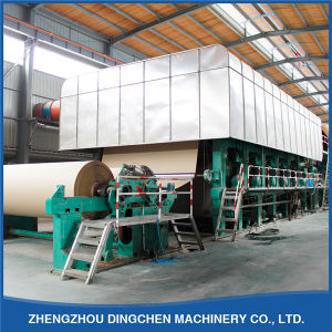 Automatic Corrugating Paper Brown Paper Making Machine 1092mm 5tpd pictures & photos
