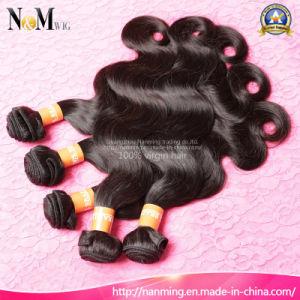 Factory Price 100% Natural Human Brazilian Virgin Body Wave Weaving Hair pictures & photos
