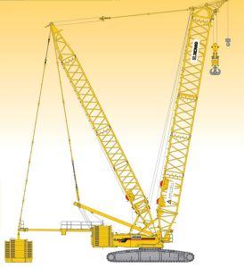 XCMG Original Manufacturer Xgc650 Crawler Crane Price for Sale pictures & photos
