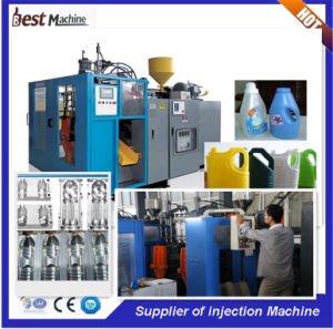 Fully Automatic Servo Energy Saving Double Station Bottle Blow Molding Machine pictures & photos