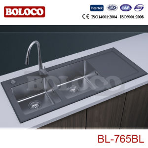 Black Glass Sinks Bl-765bl pictures & photos