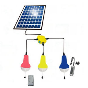 Solar Light with Mobile Charge and Remote Control for Home Lighting pictures & photos