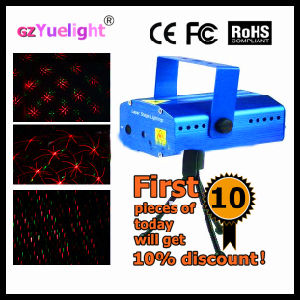 Yuelight Mini Christmas DOT Gobo Pattern Fairy Grid Mini Laser Star Holographic Laser Stage Lighting Price pictures & photos
