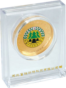 Customized High Quality Gold Silver Coin pictures & photos